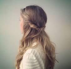 peinados con diadema elastica con cabello suelto - Buscar con Google