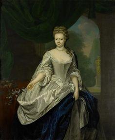 Louise Christina Trip  ca. 1710-50  Jan Abel Wassenbergh