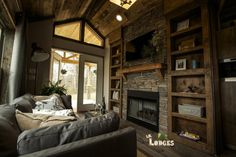 Lil' Lodges Tiny Home_Living Area