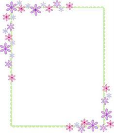 Educando con amor: MARCOS PARA FOTOS Boarder Designs, Page Borders Design, Anklet Tattoos For Women, Printable Border, Boarders And Frames, Scrapbook Borders, Borders For Paper, Paper Frames, Floral Border