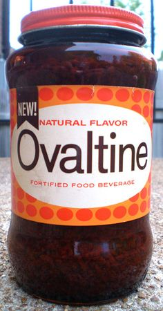 When I was pregnant, I got so tired of drinking milk that eventually I could only drink it with Ovaltine. Still Jake's favorite breakfast drink.