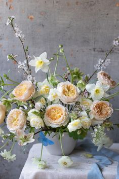 We hereby present our 'B' happy message with Beatrice, Birds and Butterflies… along with some spring Baskets too. Spring Pictures, David Austin Roses, Relaxed Wedding, Summer Birthday, English Roses, Floral Style, Rose Wedding, Yellow Roses, Daffodils