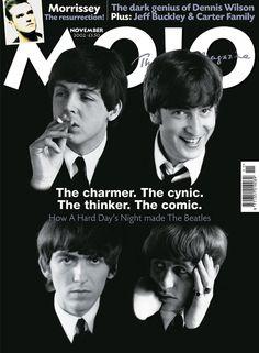 The Beatles Cover Mojo Magazine 2002 John Lennon Paul McCartney George Harrison Ringo Starr Beatles Band, Beatles Love, Les Beatles, Beatles Funny, Beatles Poster, Liverpool, Ringo Starr, George Harrison, Cool Bands