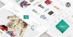Buy Modello - Responsive eCommerce Template by LeAmino on ThemeForest. Don't forget to rate if you enjoy the product! Modello – is a clean, fashion and modern HTML/CSS Template for your . Ecommerce Template, Joomla Templates, Best Templates, Web Design, Logo Design, Themes Free, Pretty Photos, Website Themes, Best Wordpress Themes