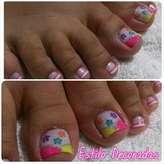 Servicio Diana Henao Cute Pedicures, Pedicure Ideas, Nails Inspiration, Projects To Try, Nail Designs, Nail Art, Feet Nails, Sour Cream, Nail Bling