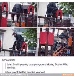 I love Matt Smith. It really breaks my heart that he won't be The Dr anymore :. (