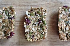 What's Baking in the Barbershop?!: Homemade, Healthy Peanut Butter Oat Granola Bars