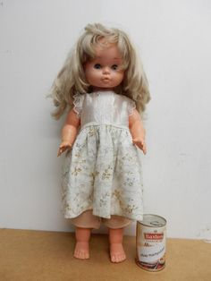 """really old doll vintage large FAMOSA doll 23""""DOLL 