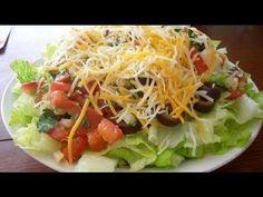 Receta de ensalada mexicana. Receta de ensalada / Receta comida mexicana...