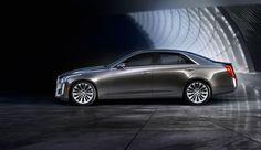 2014 Cadillac CTS Sedan.
