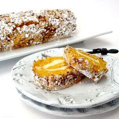 Pumpkin Pecan Roulade | TasteFood