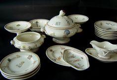 Dinette, Céramique de Sarreguemines, Passe-temps