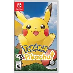 Pokemon Shield, Nintendo, Nintendo Switch - Walmart.com - Walmart.com Pikachu Pikachu, Pokemon Go, Nintendo Pokemon, Pokemon Games, Pikachu Game, Buy Nintendo, Pikachu Crochet, Game Boy, Consoles