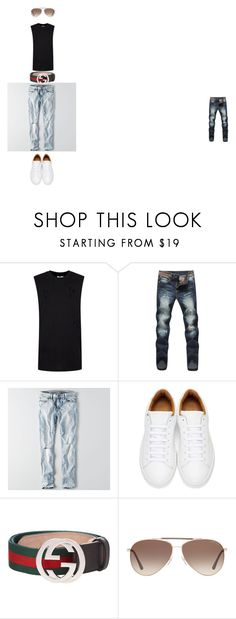 """""""lake"""" by procyonix on Polyvore featuring Topman, American Eagle Outfitters, Marc Jacobs, Gucci, Tom Ford, men's fashion and menswear"""