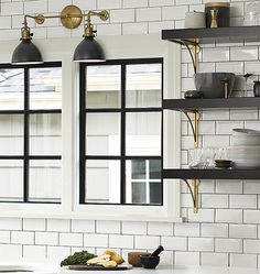 Open Shelving Style