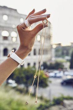 the fierce diaries | b.zero1 18k rose gold and white ceramic jewelry