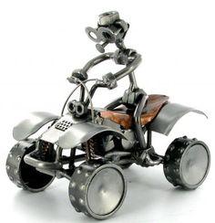 Quad Bike Nuts and Bolts Figure