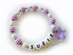 Custom Personalized Marine Starfish Purple & by BestGifts4Kids, $4.00