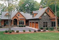Craftsman Retreat With Room Above - 17730LV   Craftsman, Mountain, Luxury, Photo Gallery, Premium Collection, 1st Floor Master Suite, Bonus Room, Butler Walk-in Pantry, CAD Available, Loft, PDF   Architectural Designs