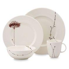 Simply Fine Lenox® Flourish 4-Piece Place Setting - BedBathandBeyond.com