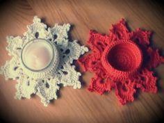 Navidad a CROCHET: como tejer un precioso portavelas