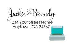 Personalized Self Inking Pre Inked Custom Made Return Address Stamp R275