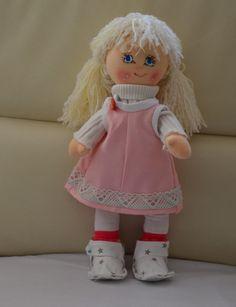 Puppen - Stoffpuppe - ein Designerstück von hudyne bei DaWanda Designer, Harajuku, Dolls, Etsy, Style, Fashion, Puppets, Baby Dolls, Swag