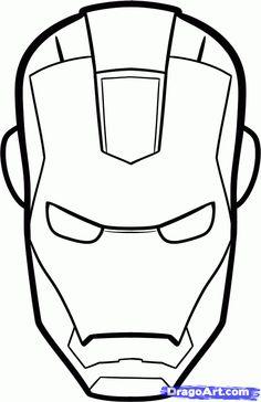 Iron man template