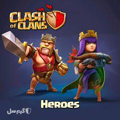 معرفی هیروهای کلش آف کلنز Clash Of Clans Archer Queen Clash Of Clans Archer Queen
