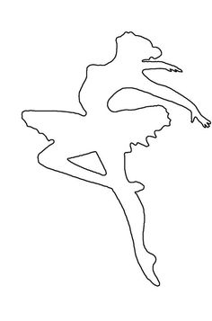 Ausmalbilder ballerina with skirt Tips For The Rose Gardener Rose gardens are probably the most popu Ballerina Silhouette, Ballerina Art, Ballerina Birthday, Ballet Art, Ballerina Coloring Pages, Coloring Pages For Girls, Diy And Crafts, Crafts For Kids, Paper Crafts