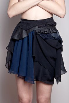 High-Waisted Tantalizing Mini-Skirt, ODD. Keeps things from getting boring.