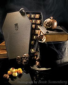 Yummy - Hotel Chocolat....I had no idea that you could just about anything Halloween orientated!