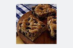 Chocolate chip peanut squares