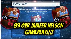 89 OVR JAMEER NELSON GAMEPLAY!!!! BLOCK CITY!!!! NBA LIVE MOBILE!!!