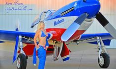 Unique photography style and graphic treatment that bring back the feel of the classic pinup culture featuring beautiful women and brilliant images of so Ww2 Aircraft, Fighter Aircraft, Fighter Jets, Airplane Fighter, Airplane Art, Cadillac, Reno Air Races, P51 Mustang, Air Space
