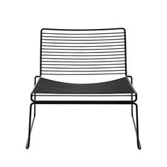 Hay - Hee - chair - Lounge - outdoor - furniture - wireframe - black