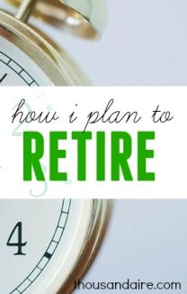 As soon as I've built enough passive income streams to support my lifestyle I'll be ready to retire. I'm not going the traditional way. Find out more.