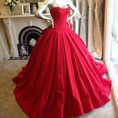 Steven Khalil red gown ❤️