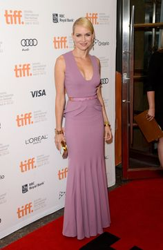 Naomi Watts in ELIE SAAB Resort 2013 for 'The Impossible' Premiere at the 2012 Toronto Film Festival.