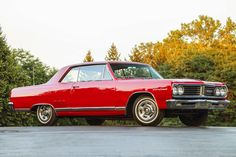 That's No Chevelle! It's a Very Rare, L79-Powered, 1965 Acadian Beaumont Sport Deluxe - Hot Rod Network Pontiac Lemans, Pontiac Cars, My Dream Car, Dream Cars, 1965 Chevelle, Chevy, Chevrolet, Pontiac Models, Dodge Trucks