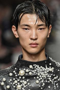 Ximon Lee - Ready-to-Wear - Runway Details - Men