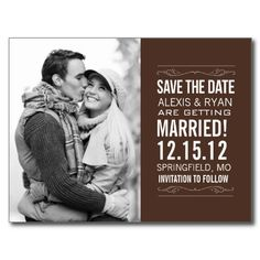 CLICK ON THE LARGER IMAGE TO SEE PRICING AND PURCHASING INFORMATION - Save The Date Postcard