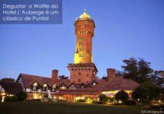 Imperdível: Waffle do L'Auberge (Uruguai)