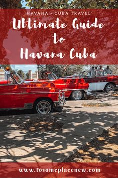 Your ultimate travel guide to #havana is here! Sightseeing tips, tour options, food & restaurants, experiences and so much more!