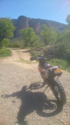 Some trails between Lleida and Pamplona in Spain