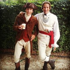 """Anthony Rosso: """"Last year on """"Sleepy Hollow"""" with Craig Parker""""."""