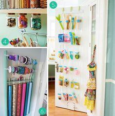 Ideas para ordenar tu material de manualidades   el taller de las cosas bonitas