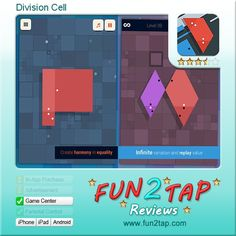 Division Cell - Confused or enthralled?. Full review at: http://fun2tap.com/index.cfm#id2422 --------------------------------------------- #apps #iosApps #iPad #iPhone #games