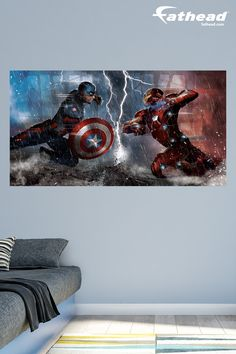 Avengers Bedroom Decor Avengers bedroom Bedding sets and Iron