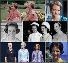R4R Royal Spotlight: The Danish Sister Princesses  Princesses Margrethe, Benedikte, and Anne-Marie of Denmark are the daughters of King Frederik IX of Sweden and Queen Ingrid (originally of Sweden). Margrethe was born in 1940, Benedikte in 1944, and Anne-Marie in 1946.